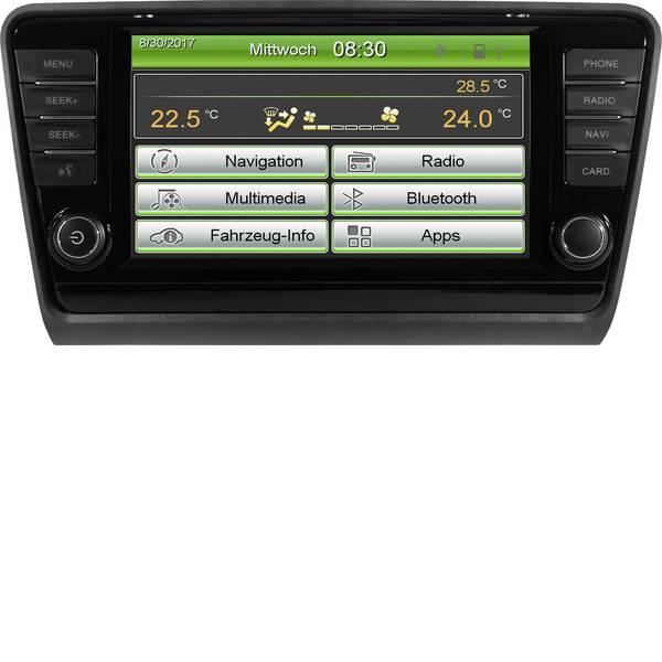 Autoradio e Monitor multimediali - ESX VNS830-SK-OC3 Moniceiver doppio DIN Collegamento per controllo remoto da volante, Collegamento per telecamera  -