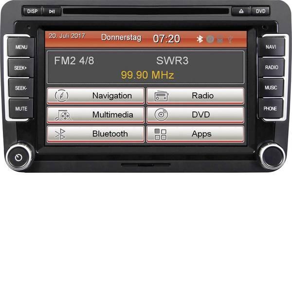 Navigatori da incasso - ESX VN720-VW-U1 Navigatore satellitare fisso da incasso Vivavoce Bluetooth®, Telecomando incl. -
