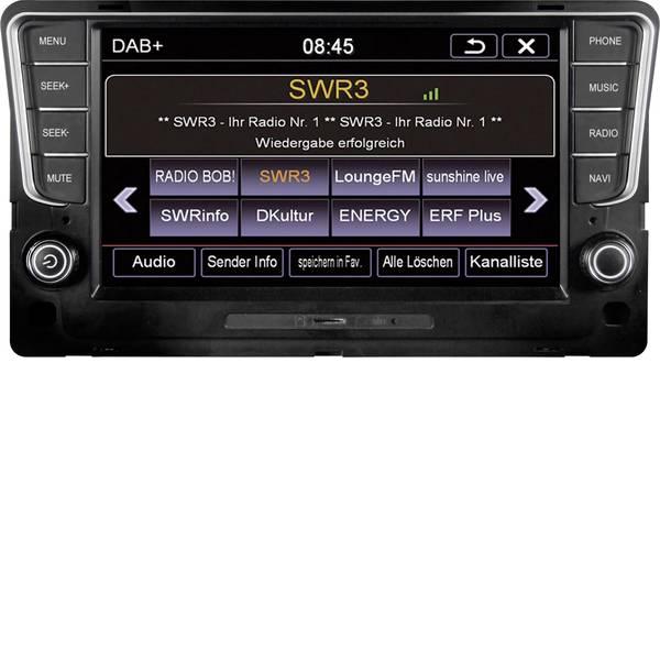 Navigatori da incasso - ESX VN810-VW-G7-DAB Navigatore satellitare fisso da incasso Collegamento per controllo remoto da volante, Collegamento  -