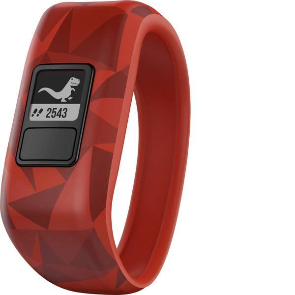 Dispositivi indossabili - Garmin vivofit jr. Broken Lava Gr. M Fitness Tracker M Rosso, Nero -
