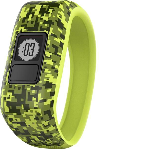Dispositivi indossabili - Garmin vivofit jr. Digi Camo Gr. M Fitness Tracker M Giallo, Nero -