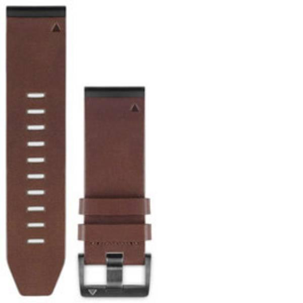 Accessori per fitness tracker - Cinturino di ricambio Garmin QuickFit Leder fenix 5x/3 Marrone -