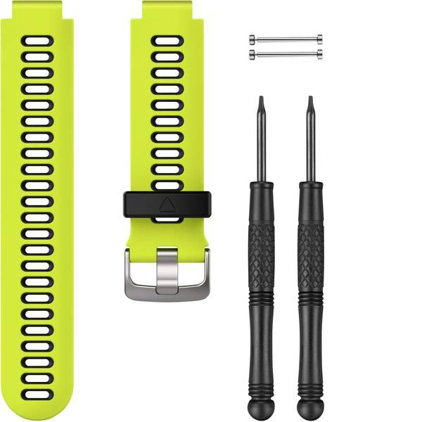 Accessori per fitness tracker - Cinturino di ricambio Garmin Silikonarmband für Forerunner 735XT Giallo, Nero -