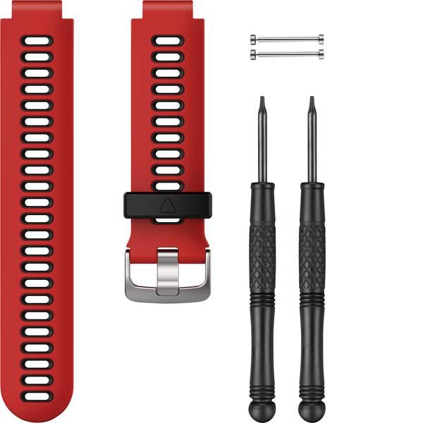 Accessori per fitness tracker - Cinturino di ricambio Garmin Silikonarmband für Forerunner 735XT Lava, Rosso -