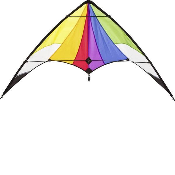 Aquiloni sportivi - Aquilone acrobatico Ecoline Orion Rainbow Larghezza estensione 1200 mm Intensità forza del vento 3 - 5 bft -