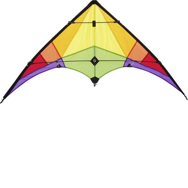 Aquiloni sportivi - Aquilone acrobatico Ecoline Rookie Rainbow Larghezza estensione 1200 mm Intensità forza del vento 3 - 5 bft -