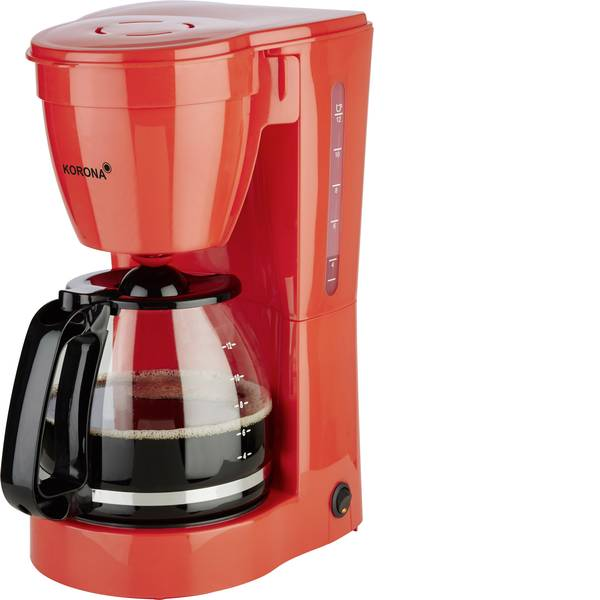 Macchine dal caffè con filtro - Korona 10117 Macchina per il caffè Rosso Capacità tazze=12 Funzione mantenimento calore -