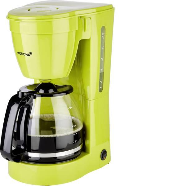 Macchine dal caffè con filtro - Korona 10118 Macchina per il caffè Verde Capacità tazze=12 Funzione mantenimento calore -