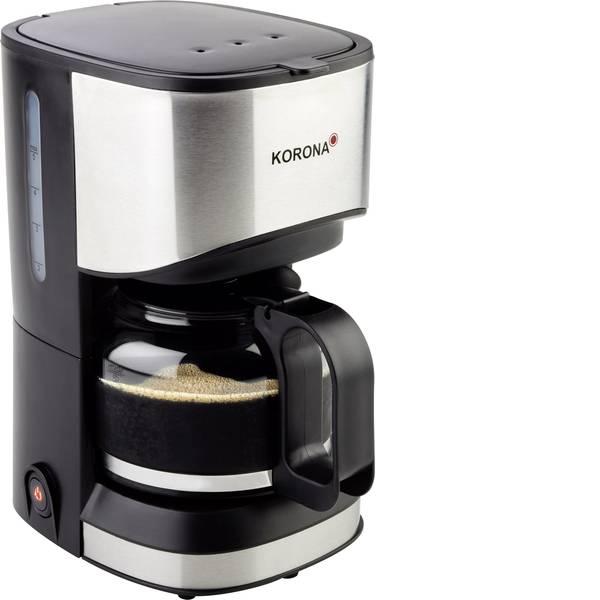 Macchine dal caffè con filtro - Korona 12015 Macchina per il caffè Acciaio, Nero Capacità tazze=5 Funzione mantenimento calore -