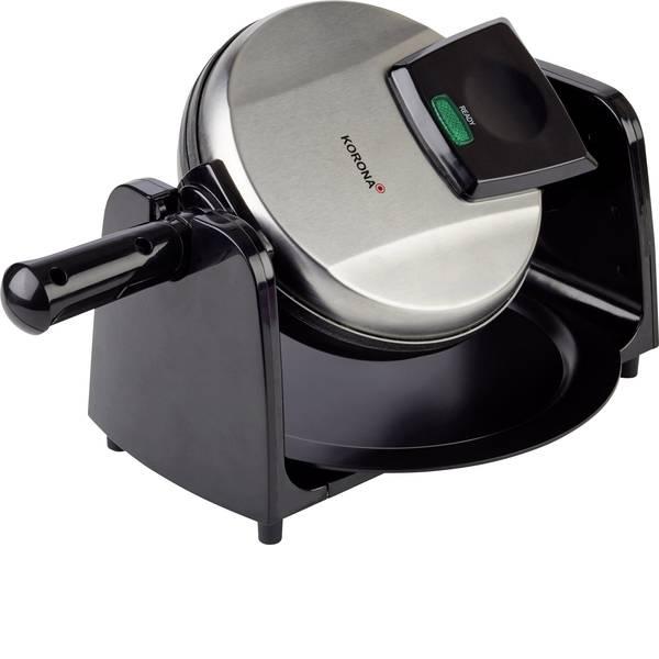 Macchine per cialde - Korona 41002 Macchina per cialde Con regolazione manuale della temperatura Argento (opaco), Nero -