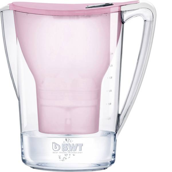 Caraffe dell`acqua e cartucce filtranti - Caraffa filtrante BWT Penguin 0815088 2.7 l Rosa -