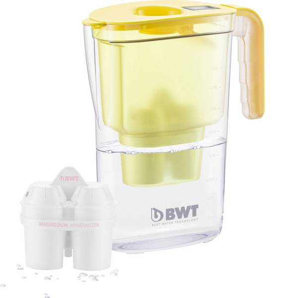 Caraffe dell`acqua e cartucce filtranti - Caraffa filtrante BWT VIDA 0815445 2.6 l Giallo -