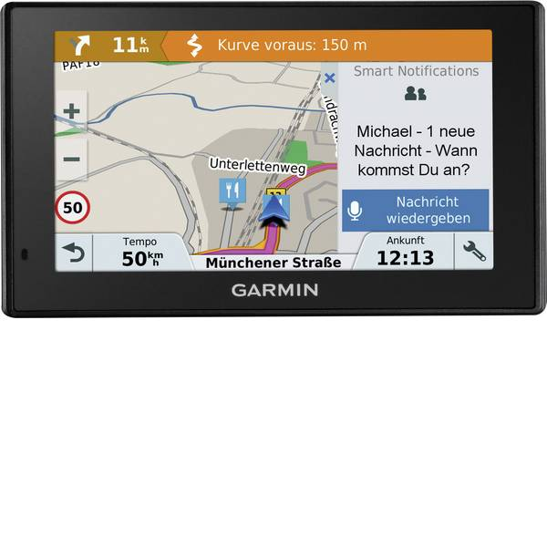 Navigatori satellitari - Navigatore satellitare DriveSmart 51 LMT-S Garmin 12.7 cm 5 pollici Europa -