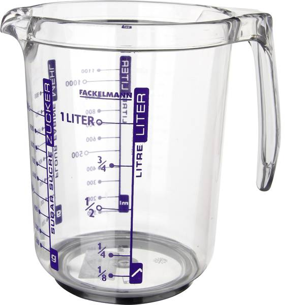 Brocche e tazze - Torcia professionale uomo dosatore 1 litri -