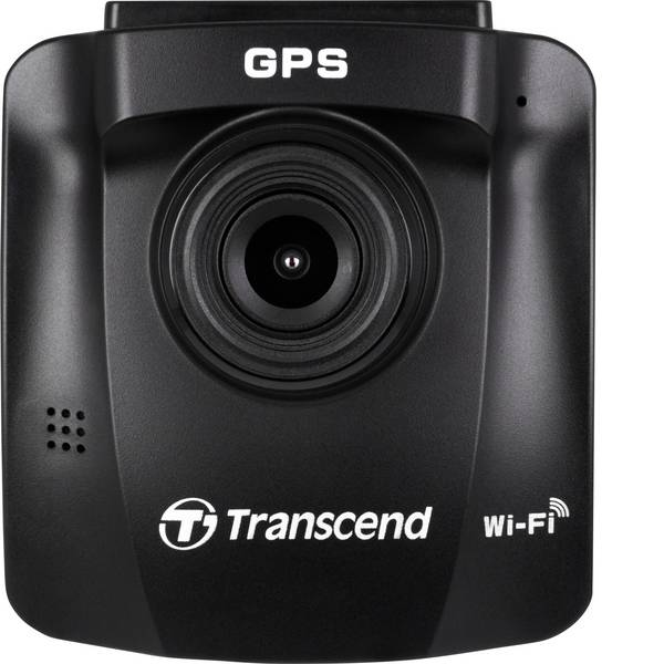 Dashcam - Transcend DrivePro 230 Dashcam Max. angolo di visuale orizzontale=130 ° 12 V, 24 V Microfono, Display -