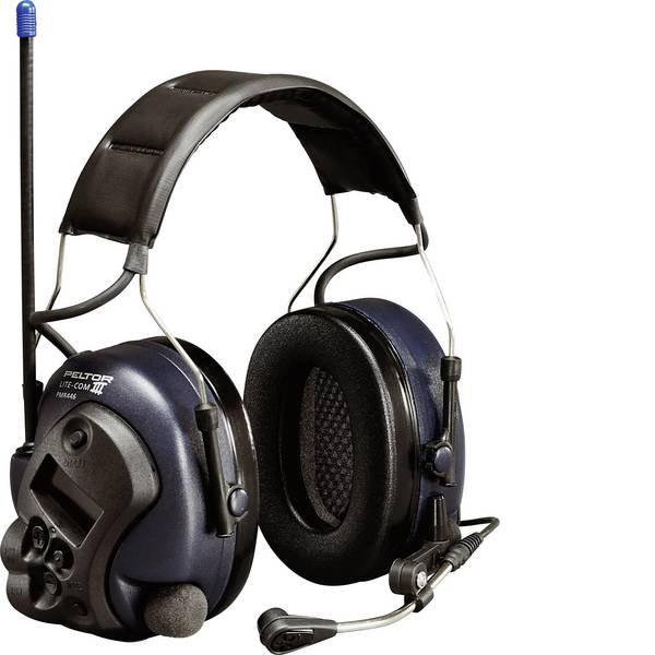 Cuffie da lavoro - Cuffia antirumore elettronica 34 dB 3M Peltor LiteCom Plus MT7H7A4410-EU LiteCom PLUS 1 pz. -