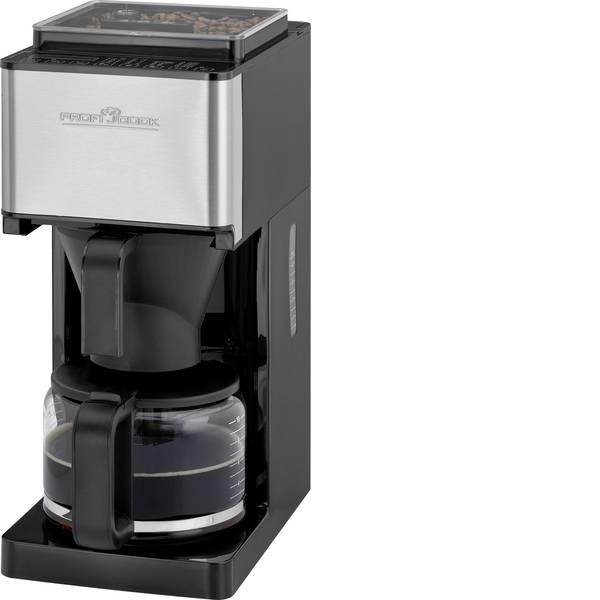 Macchine dal caffè con filtro - Profi Cook PC-KA 1138 Macchina per il caffè Nero/acciaio inox Capacità tazze=10 Con macina caffè -