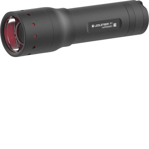 Torce tascabili - Ledlenser P7 LED Torcia tascabile con fondina, Cinturino a batteria 450 lm 25 h 190 g -
