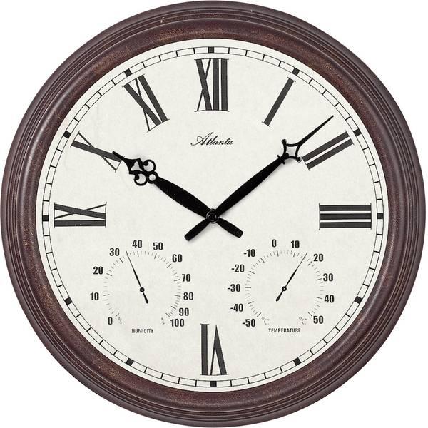 Orologi da parete - Atlanta Uhren 4448 Quarzo Orologio da parete 300 mm antico -