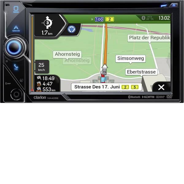 Navigatori da incasso - Clarion NX405EC Navigatore satellitare fisso da incasso Europa software camion/camper, Vivavoce Bluetooth®, Sistema di  -