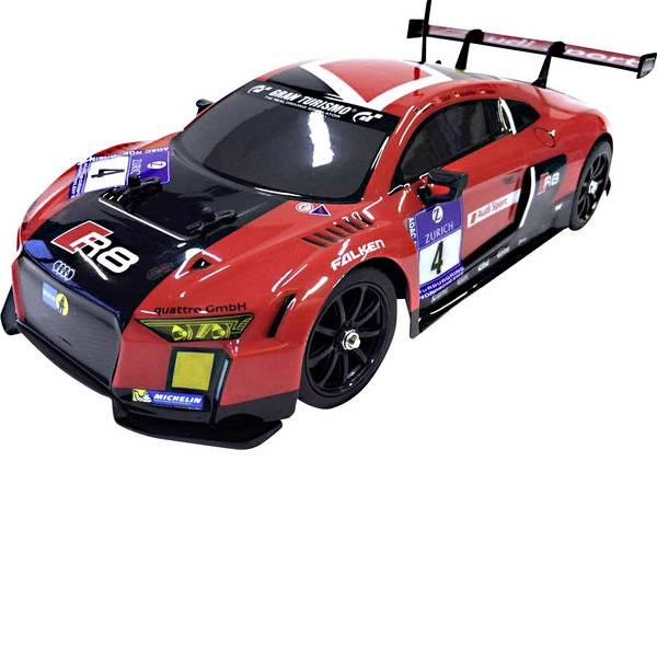 Auto telecomandate - Reely 1590237 Audi R8 1:16 Automodello per principianti Elettrica Auto stradale Trazione posteriore incl. Batterie -