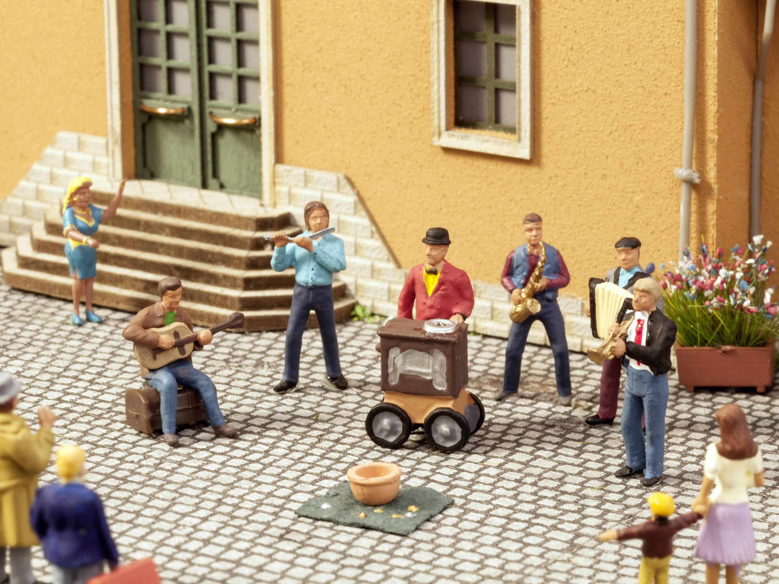 N Scena sonora musicisti di strada NOCH 12955