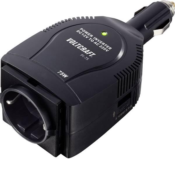 Inverter - VOLTCRAFT Inverter PI-75 75 W 12 V/DC - 230 V/AC -