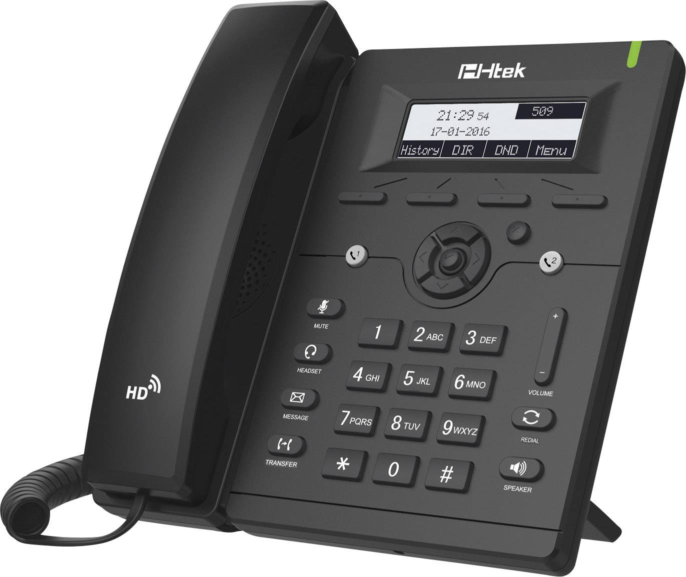 Telefono a filo VoIP TipTel Ht