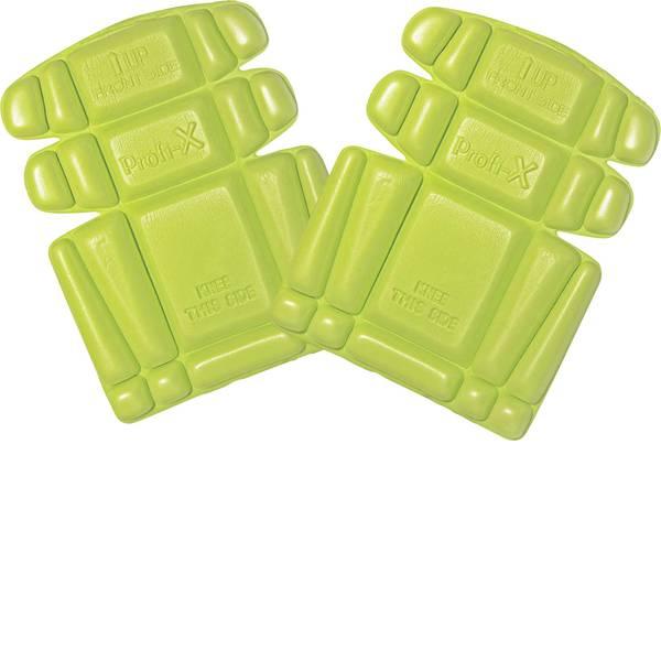 Ginocchiere - Ginocchiere in schiuma PE DIN EN 14404 Livello di protezione: 1 L+D Profi-X 2482-LG Verde limone 1 Paia -