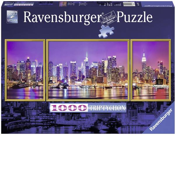 Puzzle - Ravensburger Puzzle - New York Triptychon -