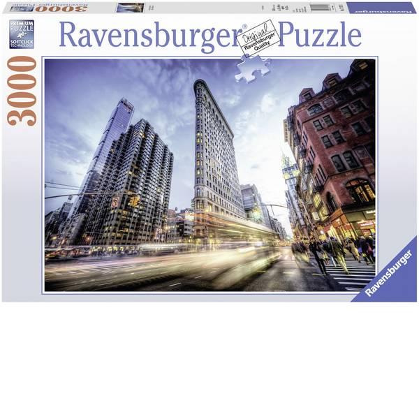 Puzzle - Ravensburger Puzzle - Flat Iron Building -