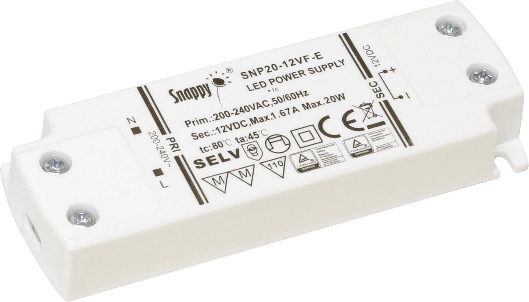 Dehner Elektronik SNP20-24VF-E