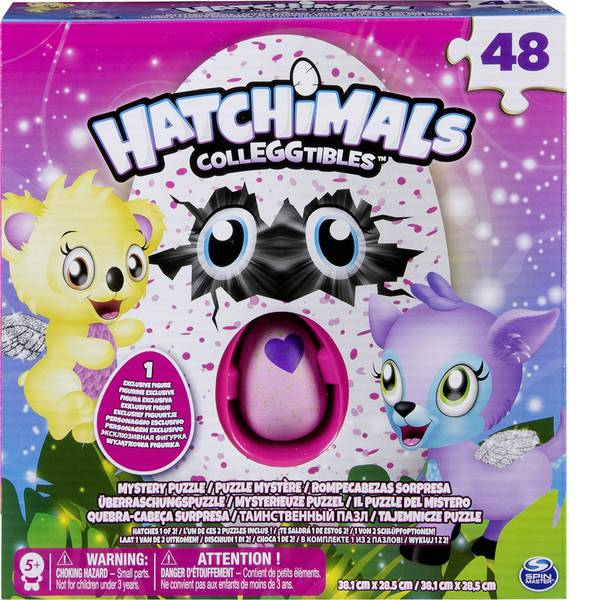 Puzzle - Spin Master: Hatchimals Puzzle Mystery -