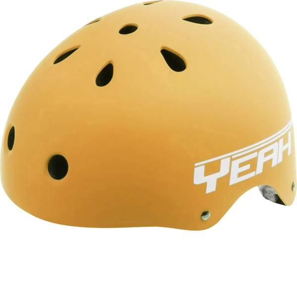 Caschi da bicicletta - Caschetto per bambini Opaco, Arancione Taglia=L circonferenza cranica=58-61 cm -