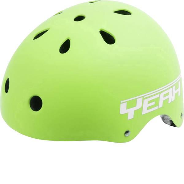 Caschi da bicicletta - Caschetto per bambini Opaco, Verde Taglia=L circonferenza cranica=58-61 cm -