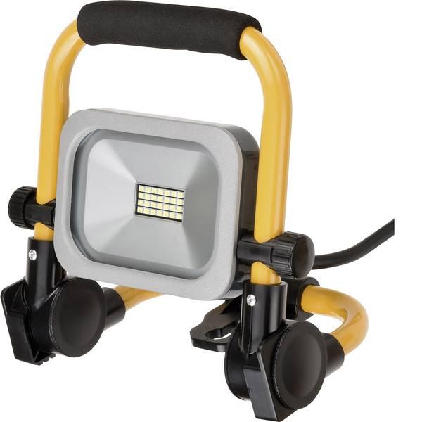 Illuminazioni per cantieri - Brennenstuhl Mobiler Slim LED-Strahler Faretto LED 10 W 950 lm 1172900102 -
