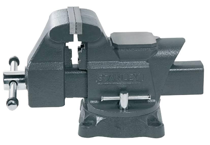 Morsa a vite Stanley by Black & Decker MaxSteel Apertura (max.): 125 mm