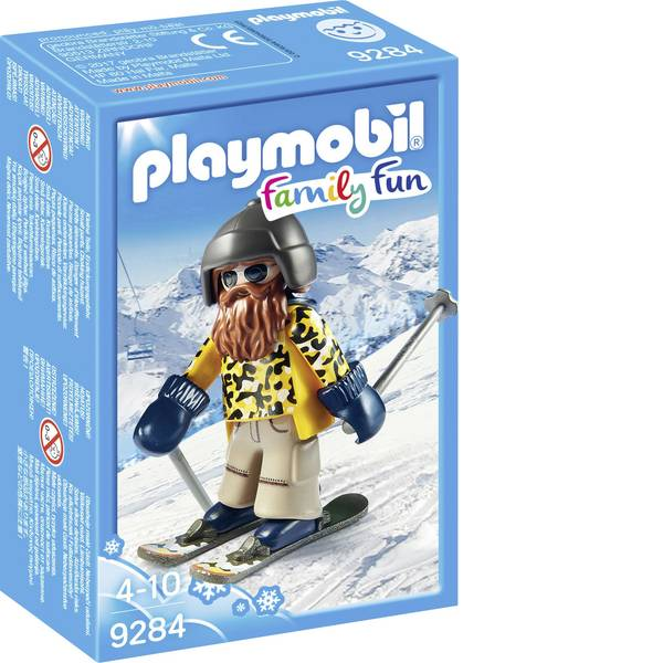 Personaggi da gioco - Play mobile - Sciatori con Snow blade -