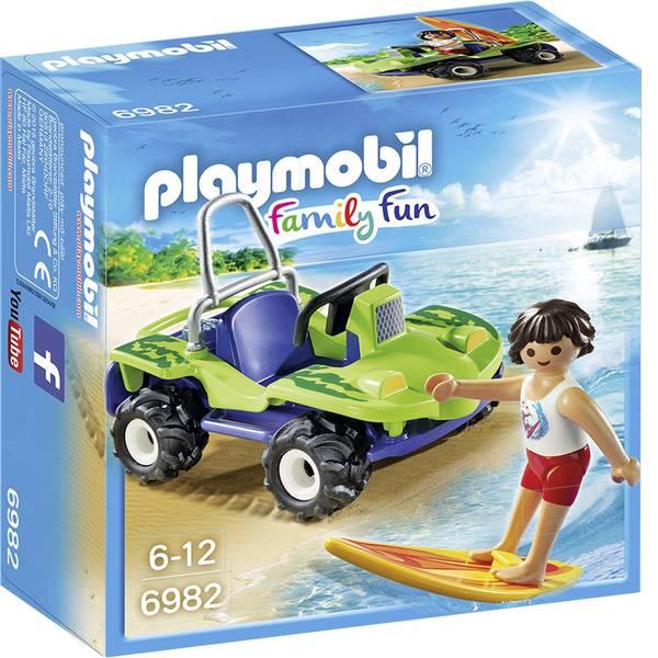 Personaggi da gioco - Play mobile - Sufer Buggy con spiaggia -