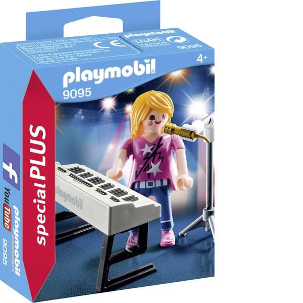 Personaggi da gioco - Play mobile - vocalist del keyboard -