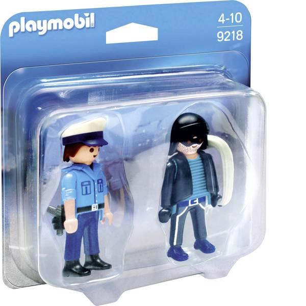 Personaggi da gioco - Play mobile - Confezione Polizist e dito -