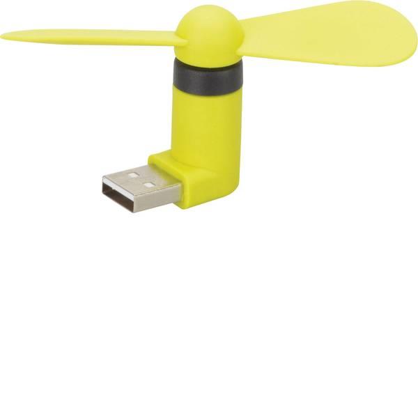 Accessori comfort per auto - Mini Ventilatore Herbert Richter 110 112 01 43 mm x 88 mm x 20 mm con connettore USB -