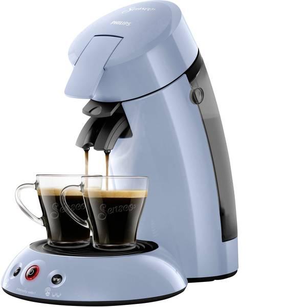Macchine per caffè a capsule Senseo - Macchina per caffè con cialde SENSEO® HD6554/70 Original HD6554/70 Blu chiaro -
