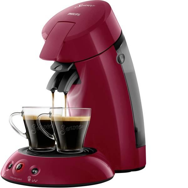Macchine per caffè a capsule Senseo - Macchina per caffè con cialde SENSEO® HD6554/90 Original HD6554/90 Rosso rubino -
