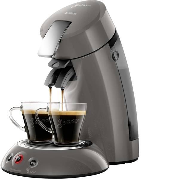 Macchine per caffè a capsule Senseo - Macchina per caffè con cialde SENSEO® HD6556/00 HD6556/00 Grigio chiaro, Metallo -