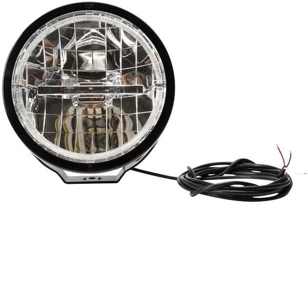 Faretti per auto - Faretto abbagliante, Luce di posizione W116 LED alta potenza WAS (Ø x P) 230.5 mm x 130 mm Nero -