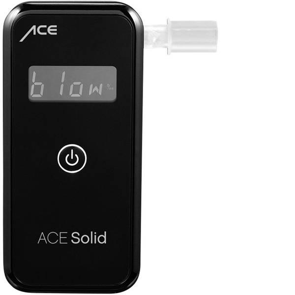 Etilometri - ACE Solid Etilometro Nero 0 fino a 4 ‰ incl. display, Visualizzazione diverse unità -