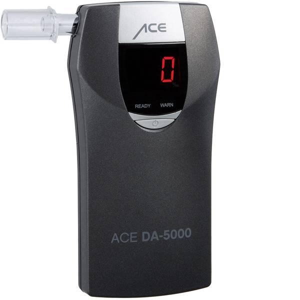 Etilometri - ACE DA-5000 Etilometro Grigio 0 fino a 4 ‰ Funzione conto alla rovescia, Allarme, Visualizzazione diverse unità, incl.  -