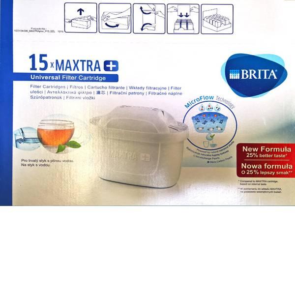 Caraffe dell`acqua e cartucce filtranti - Filtri per caraffa filtrante, 15x Brita Maxtra+ confezione risparmio -