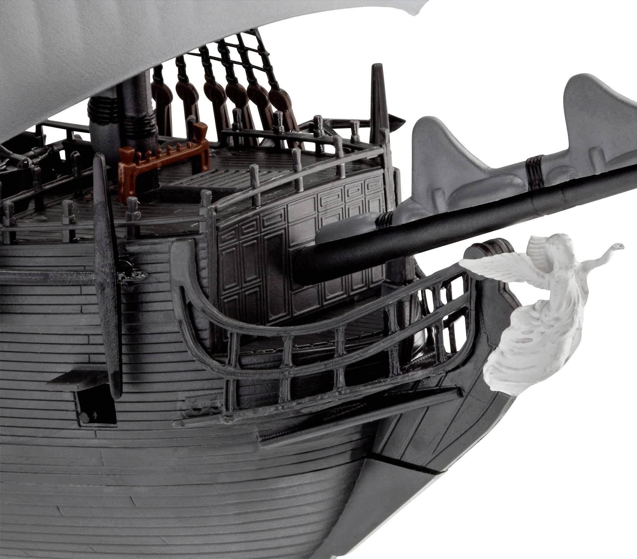 Modello 26cm Kit Montaggio Nave LA PERLA NERA Scala 1//150 Revell PIRATI CARAIBI